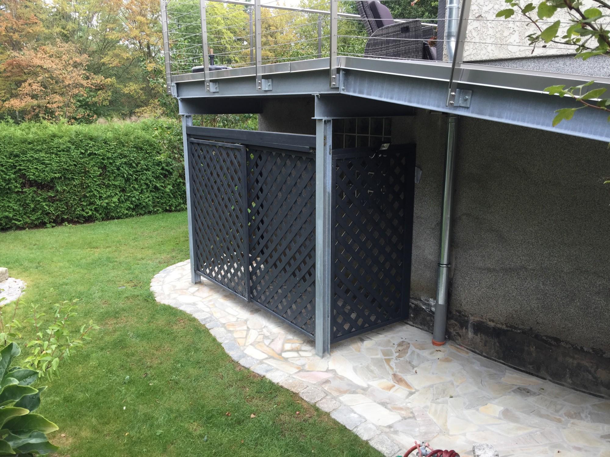 Baustelle Unter Dem Balkon Es Ging Noch Was Mygardn